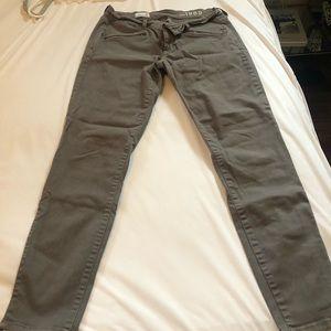Gap ankle gray pants